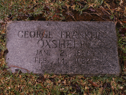 George Franklin Oxsheer