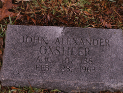 John Alexander Oxsheer