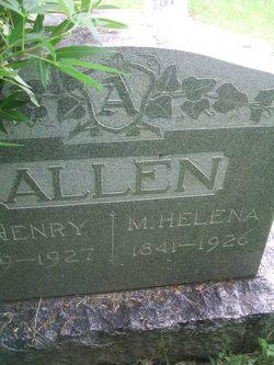 Mary Helena <i>Patillo</i> Allen
