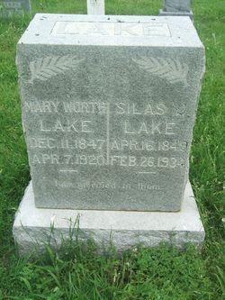 Mary Worth Mollie <i>Whitaker</i> Lake