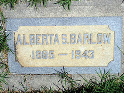 Alice Alberta <i>Sweeten</i> Barlow