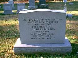 Rev Joseph Manly Cobb