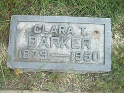 Clara Alice <i>Troxell</i> Barker
