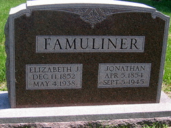 Elizabeth Jane <i>McCance</i> Famuliner