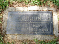 Mary Jane <i>WALL</i> ARNOLD GORDON