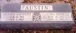 Cora Myrtle <i>Keith</i> Austin