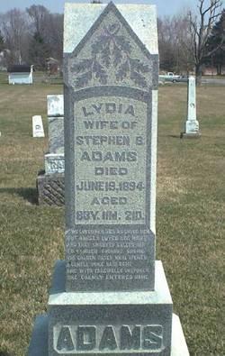 Lydia <i>Allender</i> Adams