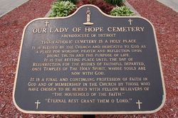 Our Lady of Hope Cemetery