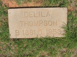 Delila Alice <i>Satterlee</i> Thompson