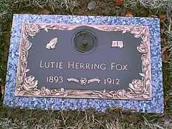 Lutie <i>Herring</i> Fox