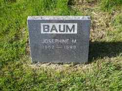 Josephine M Baum