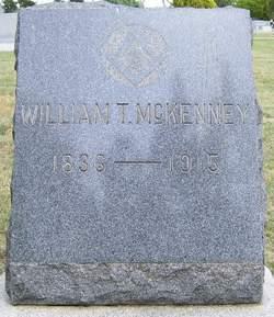 William T McKenney