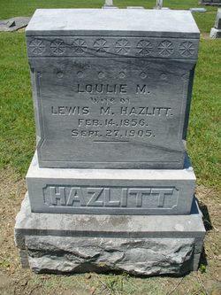 Loulie M Hazlitt