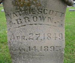 Vattie <i>Scott</i> Brown