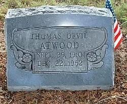 Thomas Orvil Badge Atwood