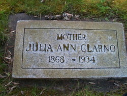Julia Ann Clarno