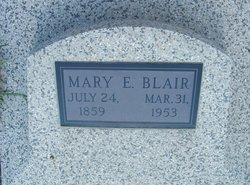 Mary Elizabeth <i>Vance</i> Blair