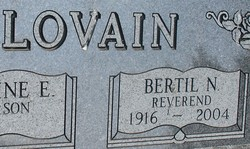 Rev Bertil N. Lovain
