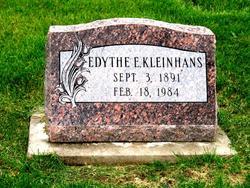 Edythe E. <i>Welch</i> Kleinhans