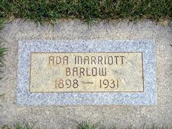 Ada <i>Marriott</i> Barlow
