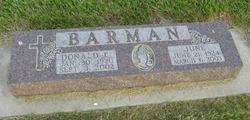 June <i>Basham</i> Barman