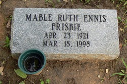 Mable Ruth <i>Ennis</i> Frisbie