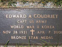 Edward A Coudriet, Jr