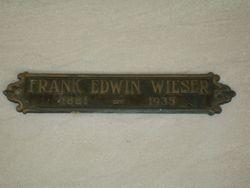 Frank Edwin Wieser
