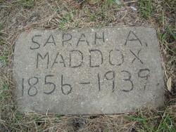 Sarah Adeline <i>Willson</i> Maddox