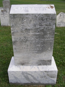 Lillie Irene <i>Kelley</i> Cookerly