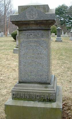 Caroline Noyes <i>Poore</i> Cunningham