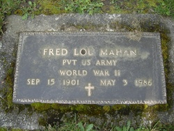 Fred Lou Mahan