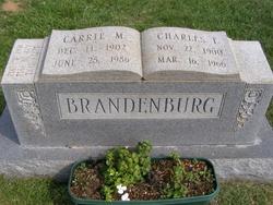 Carrie M <i>Plunkard</i> Brandenburg