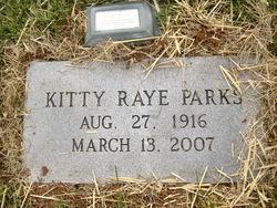 Kitty <i>Raye</i> Parks