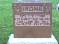 Rev Ephraim William Irons