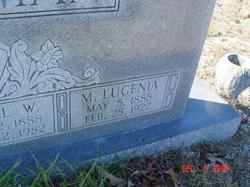 Myra Lugenia <i>Miller</i> Backman
