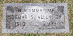 Norman Senior Allen
