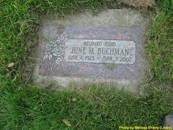 June M. <i>Munch</i> Buchman
