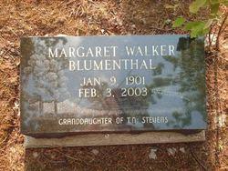 Margaret Walker Blumenthal