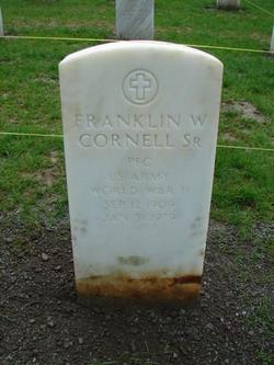 Franklin W Cornell, Sr
