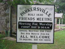 Parkersville Friends Meeting Cemetery