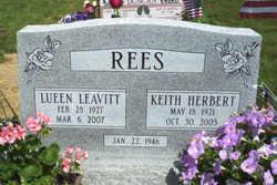Lueen <i>Leavitt</i> Rees