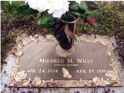 Mildred Marcella Millie <i>Walker</i> Wills