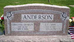 Christina <i>Thomson</i> Anderson