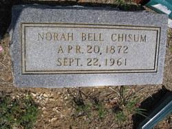 Norah Belle <i>Mahan</i> CHISUM