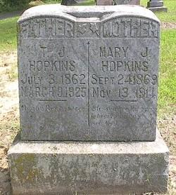 Mary Jane <i>Lee</i> Hopkins