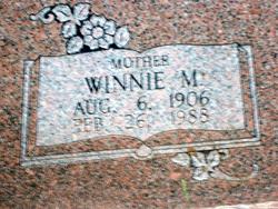 Winnie Mary <i>Cosper</i> McCrary