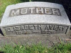 Elizabeth Martha <i>Mobley</i> Avery