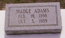 Madge Adams