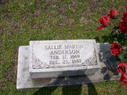Sallie <i>Martin</i> Anderson